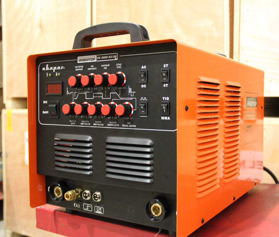 инвертора Сварог TIG 200 P